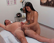 Asian massage spy video