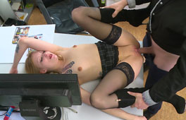 German Secretary Anal Pounding