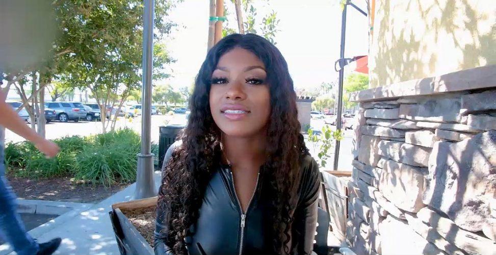 Young Ebony Pornstar Evi Rei