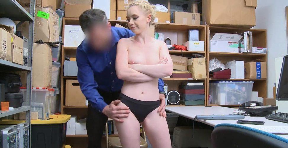 shoplifter case sex video