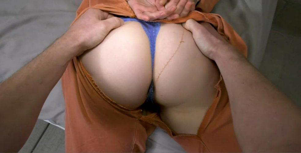 He rips her pants
