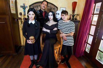 Addams family halloween orgy video